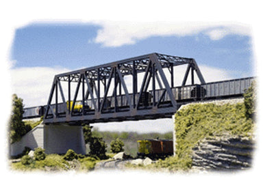 WALTHERS N DOUBLE TRACK TRUSS BRIDGE