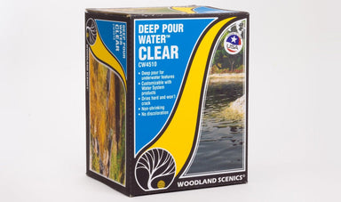 WOODLAND SCENICS DEEP POUR WATER, CLEAR