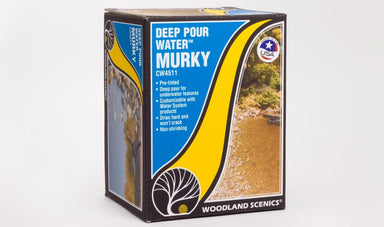 WOODLAND SCENICS DEEP POUR WATER MURKY