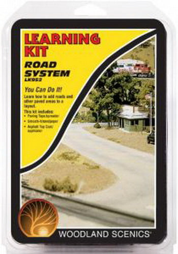WOODLAND SCENICS ROAD AND PAVEMENT LEARNING KIT