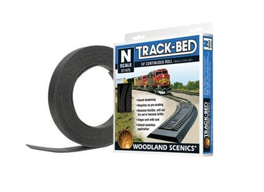 Woodland Scenics N Track-Bed Roll, 24