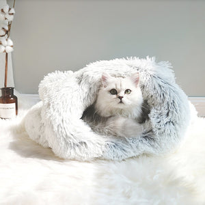 dog and cat Calming Cat Sleeping Bag - momo-blvd