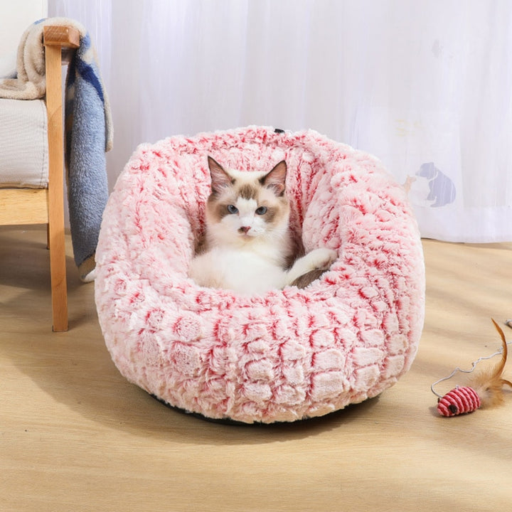dog and cat Marshmallow Cat Bed - momo-blvd