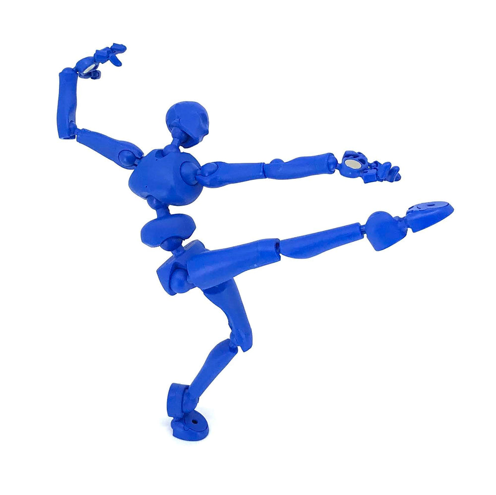 Stickybones—The Precision Art & Animation Figure (Dark Storm)