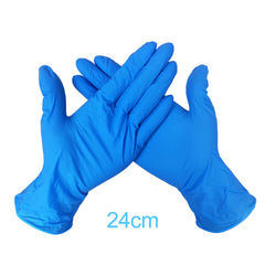100 Pieces Durable Latex Disposable Virus ISolator Gloves