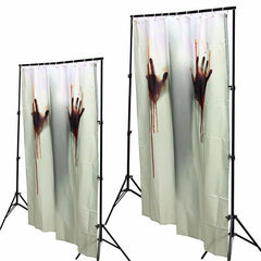 Halloween Hands Shower Curtain