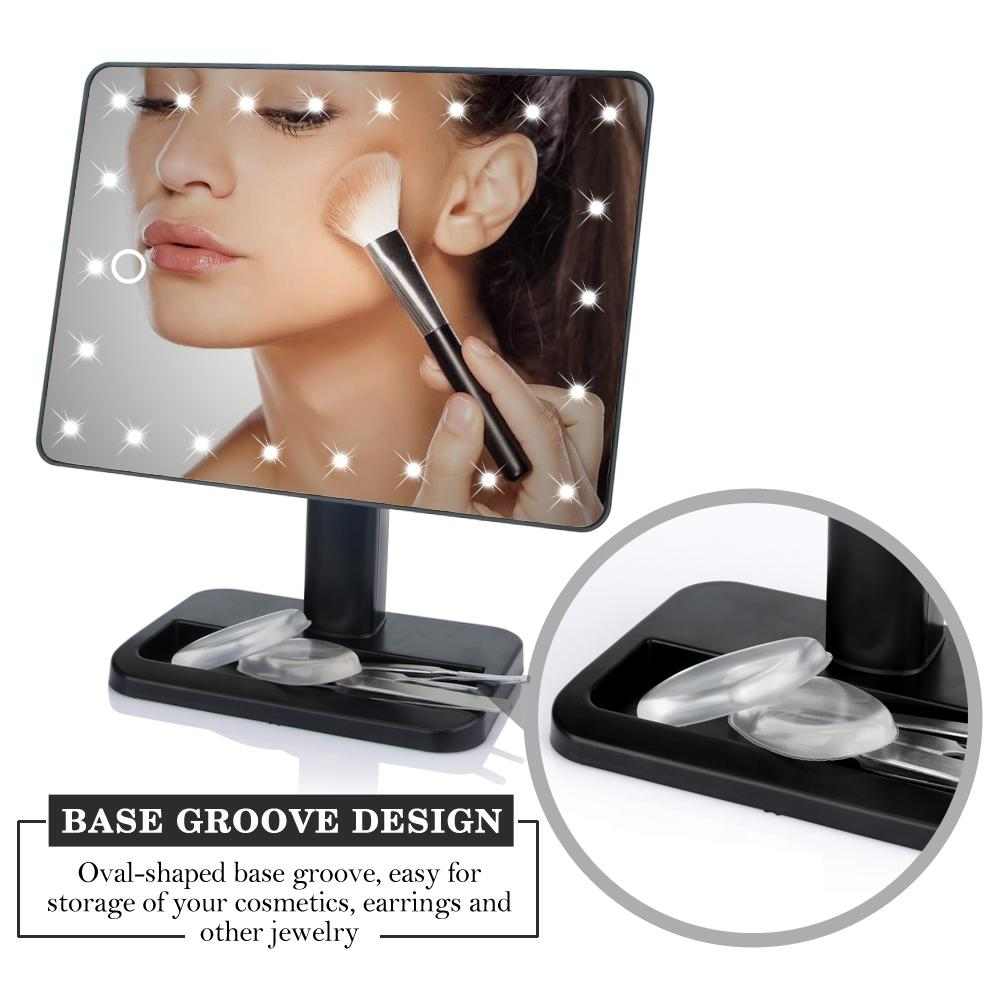 360° Rotating LED Mirror