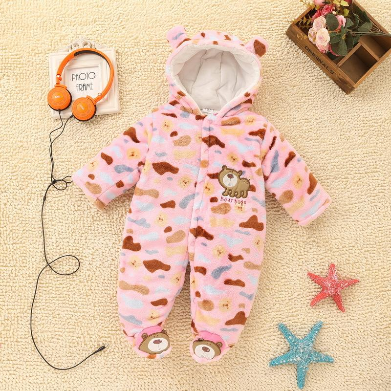 Baby Romper Hooded Jumpsuit