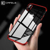 Fashion Transparent Case ForIiPhone X