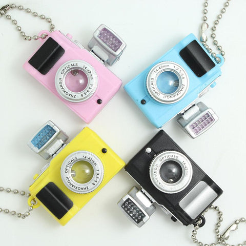 Camera Led Keychain Flashlight