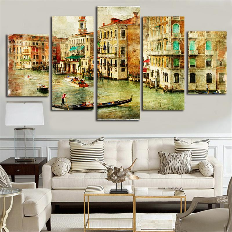 City of Venice Canvas Painting
