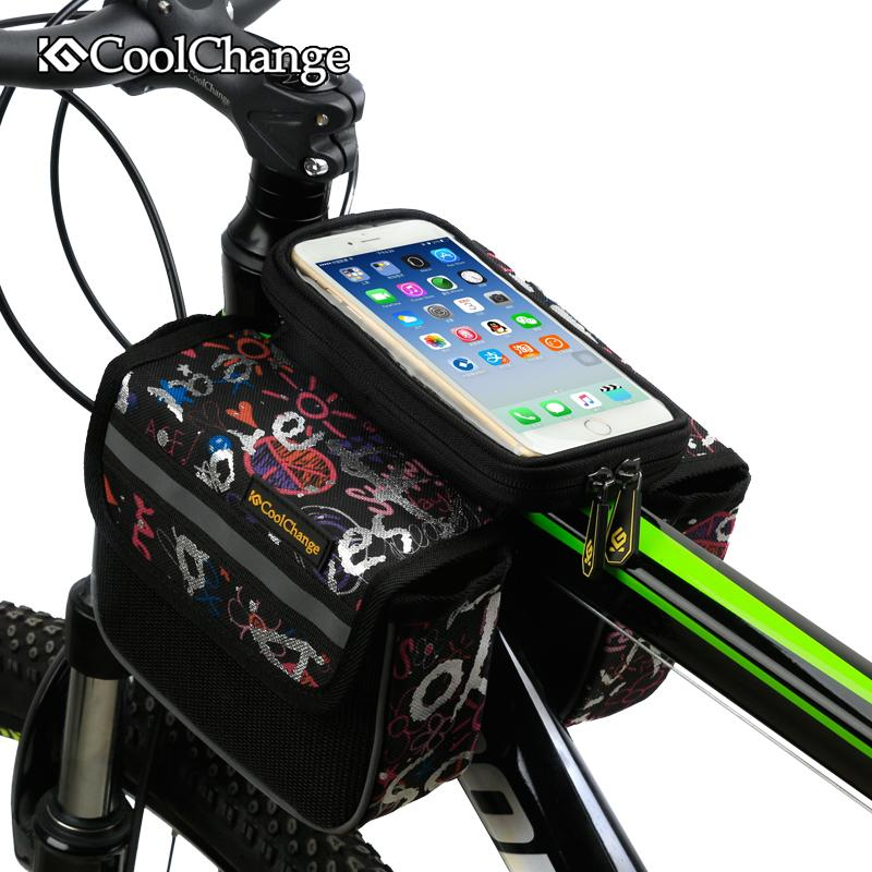 Bike Bag Touch Screen Front
