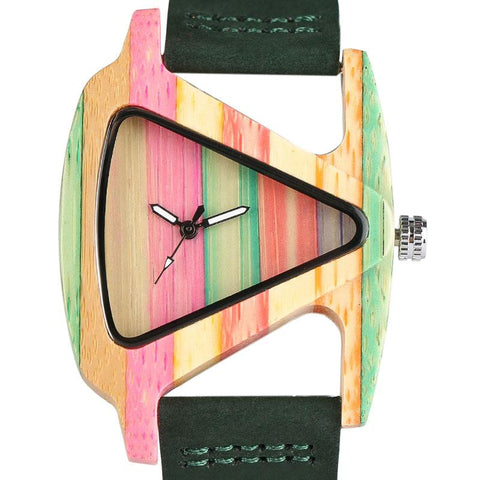 Creative Triangle Elegant Wristwatch