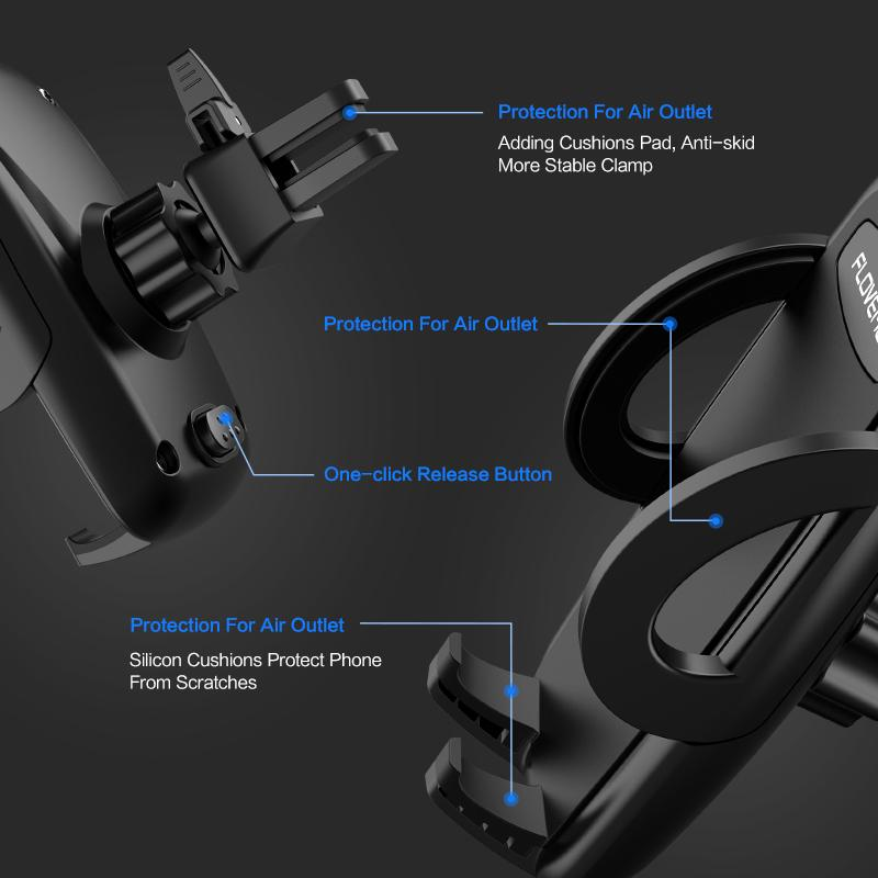 360 Rotation Car Phone Holder