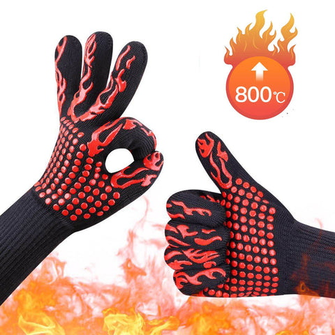 NON-SLIP Anti Heat Gloves (FIREPROOF)