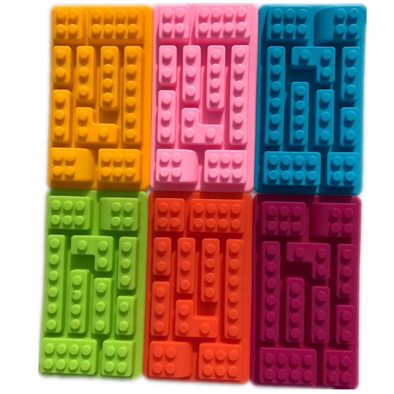 Building Blocks Silicone Ice Mold