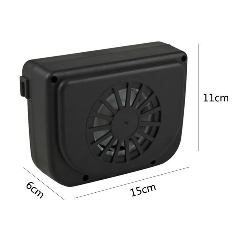 Car Solar Cooler Exhaust Fan