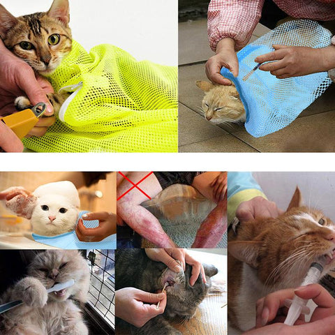 Comfortable Cat Grooming Bag