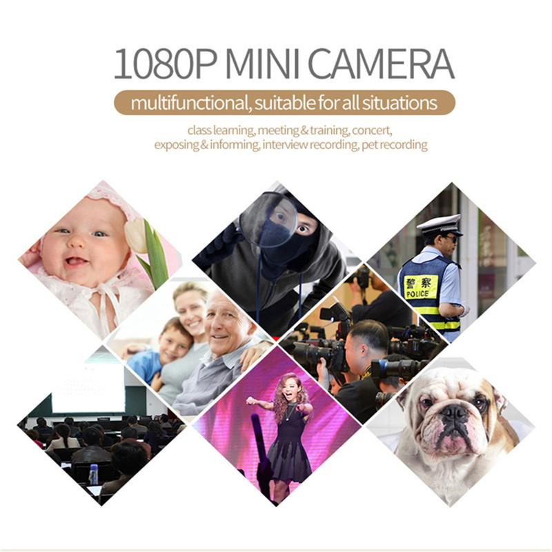 1080P Mini Camera with Night Vision with 32 GB Memory Card