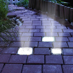Solar Waterproof LED Brick Light