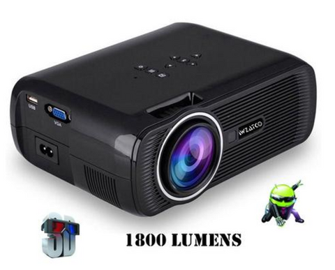 Smart Portable Wifi Mini full HD 1080P 3D Projector