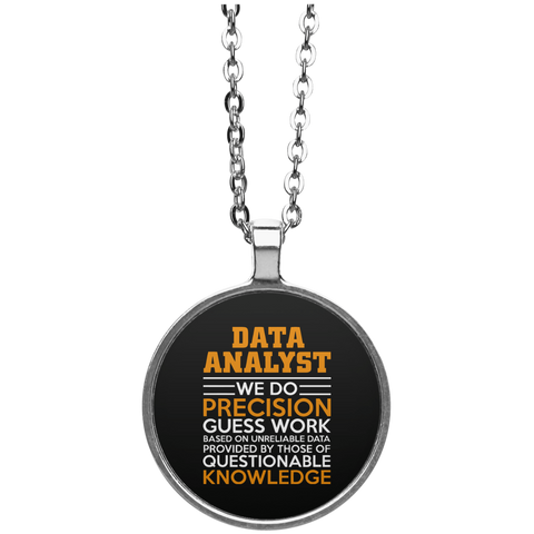 Accessories - Data Analyst Circle Necklace
