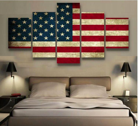 American Pride 5 Piece Canvas Limited Edition - American Pride 5 Piece Canvas Limited Edition