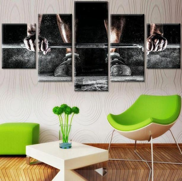 Bodybuilder 5 Piece Canvas Limited Edition - Bodybuilder 5 Piece Canvas Limited Edition
