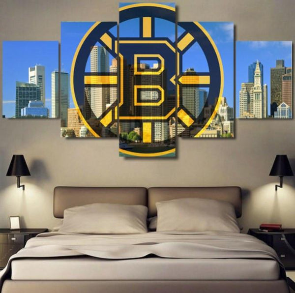 Boston Bruins - Boston Bruins 5 Piece Canvas Limited Edition