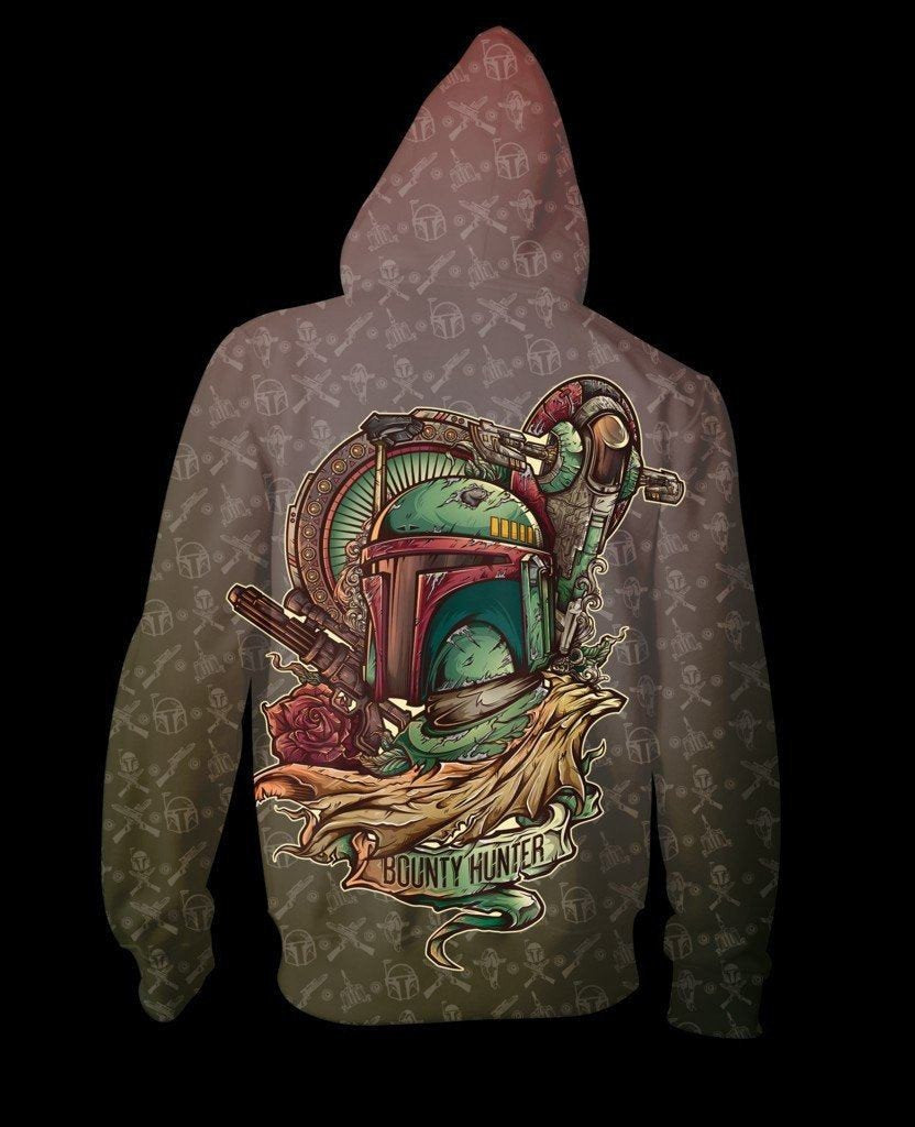 Bounty Hunter Zip-Up Hoodie