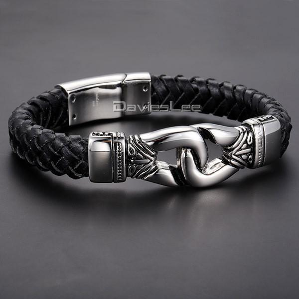 Bracelet - Aztec Braided Leather Bracelet