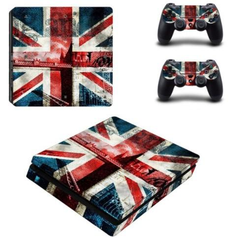British Flag PS4 Skin + 2 Controllers - British Flag PS4 Skin + 2 Controllers