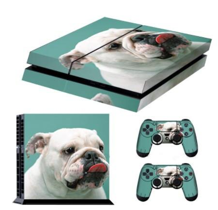 Bulldog Skin For PS4 + 2 Controllers - Bulldog Skin For PS4 + 2 Controllers
