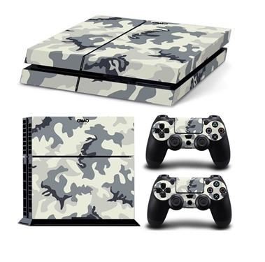 Camouflage Skin For PS4 + 2 Controllers - Camouflage Skin For PS4 + 2 Controllers Available In 13 Different Styles