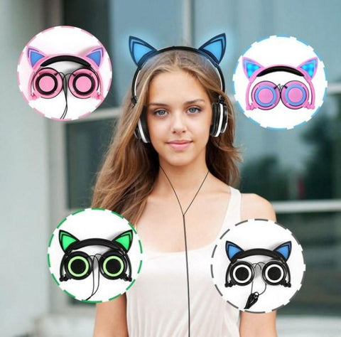 Cat Headphone - Cat Ear Headphones
