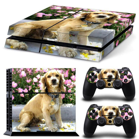 Cocker Spaniel PS4 Skin Cover For PS4 + 2 Controllers - Cocker Spaniel PS4 Skin Cover For PS4 + 2 Controllers