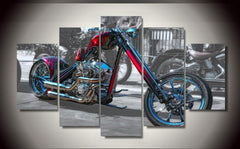 Custom Chopper - Custom Chopper 5 Piece Canvas Limited Edition