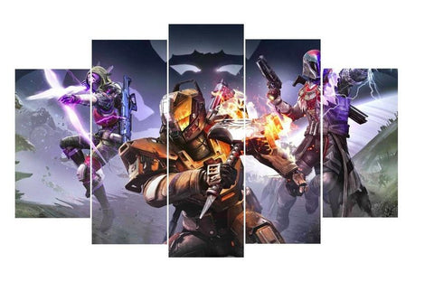 Destiny 5 Piece Canvas - Destiny 5 Piece Canvas Limited Edition