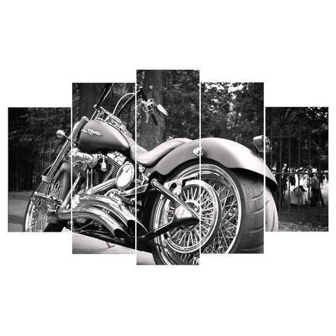 Harley Davidson 5 Piece Canvas Limited Edition - Harley Davidson 5 Piece Canvas Limited Edition