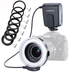 LED Macro Ring Flash For Canon Nikon Olympus.