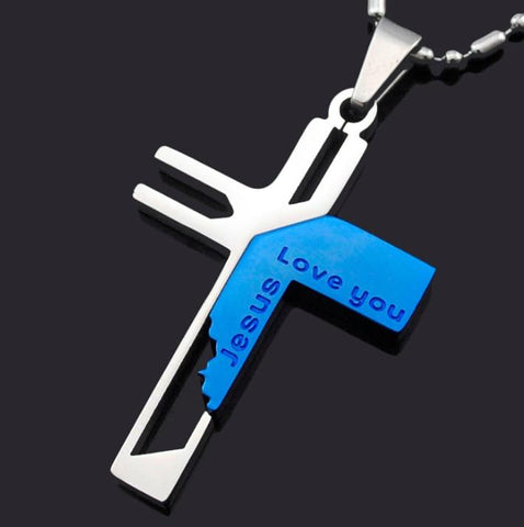 Love You Jesus Necklace - Love You Jesus Necklace