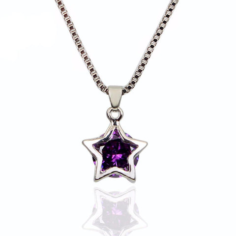 Necklace - Crystal Star Necklace