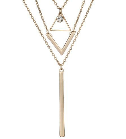 Necklace - Hot Triangle Necklace