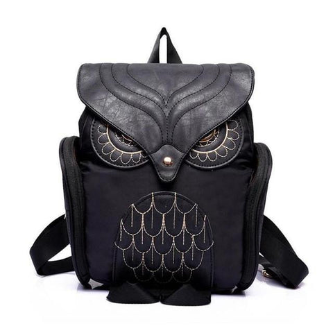 Owl Backpack - Leather Owl Backpack