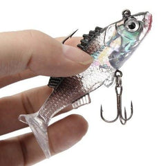 Paillette Fishing Lure Soft Crankbait - Paillette Fishing Lure Soft Crankbait