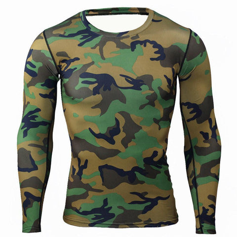 Shirts - Camouflage Compression Shirt