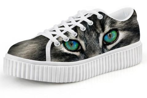 Shoes - 3D Cat Shoes