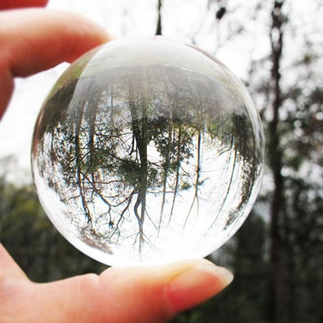Clear Glass Lens Ball