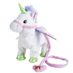 MUSICAL WALKING UNICORN TOY