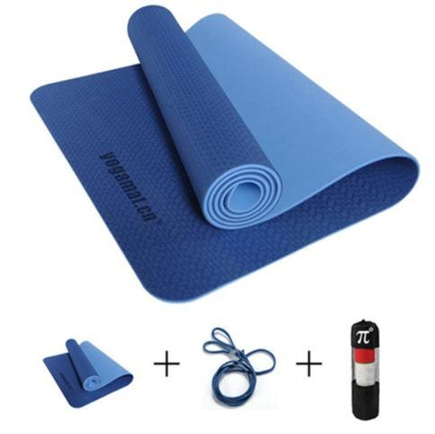 YOGA & PILATES MAT THREE PARTS 183*61*0.6 - YOGA & PILATES MAT THREE PARTS 183*61*0.6